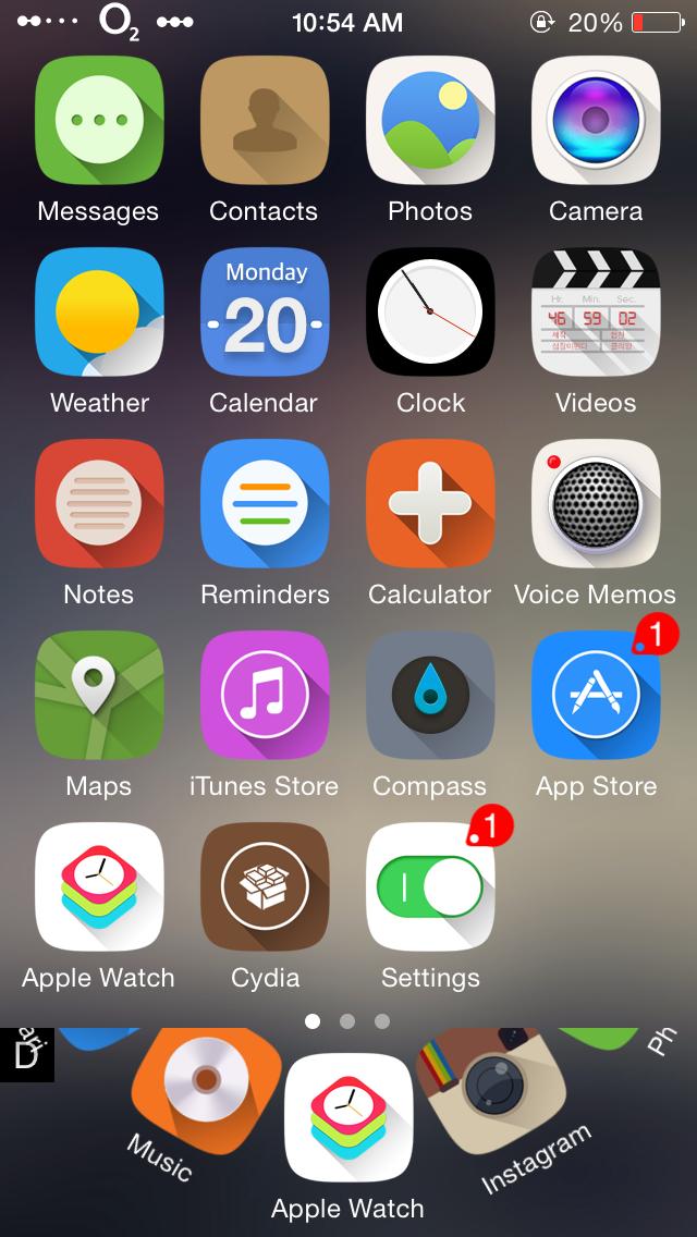 CirDock iOS8.4-iOS8.3-iapptweak
