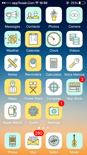 Sona-cydia-theme-ios8.4-8.3-iapptweak