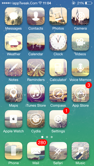 Vindemia-cydia-theme-ios8.4-8.3-iapptweak