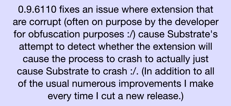 Cydia-substrate-update-iOS9-iapptweak