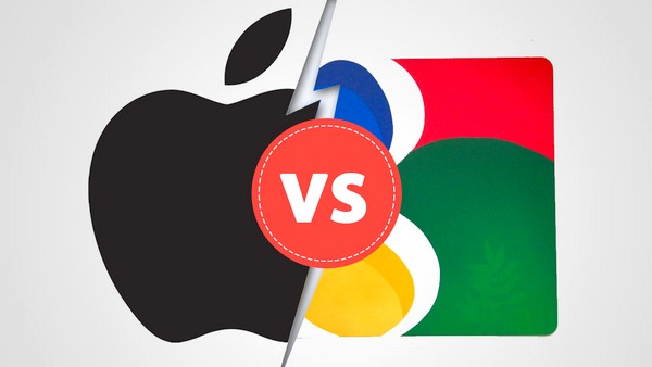 Apple-vs-google-iapptweak