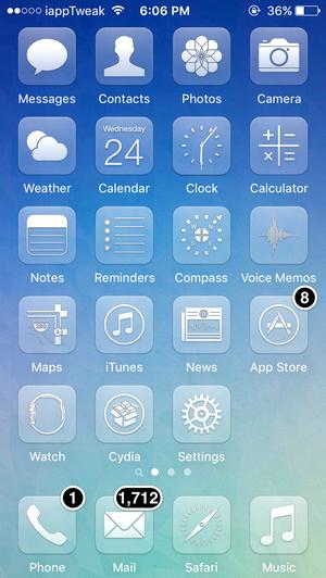 Glasklart-iOS9.2-iOS9.3-jailbreak-top-themes-iapptweak