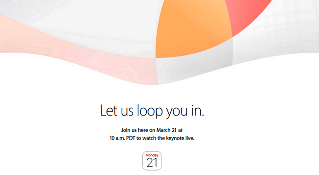 Apple March 21 event -Let us loop you in-iapptweak