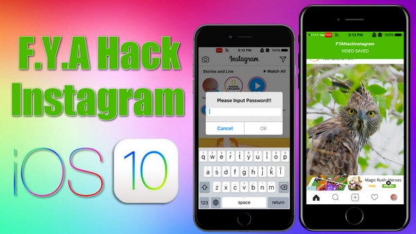 F.Y.A Hack Instagram Tweak Downloads Instagram Photos, Videos & More