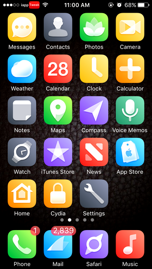 TOP 10 Brand New iOS 10 Cydia Themes for iPhone – Part 5