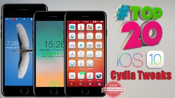 TOP 20 Brand New Tweaks For iOS 10/iOS 10.2 Yalu Jailbreak – Part 4