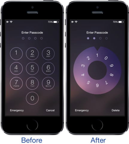 Combination Lock iapptweak