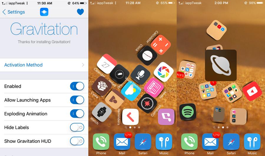 Gravitation-iOS9-jailbreak-tweak-settings-iapptweak