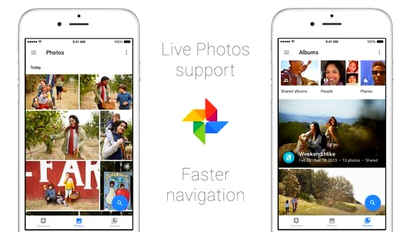 Google Photos for iOS now lets you upload and view Live Photos