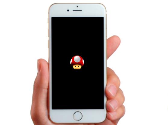 Mario Mushroom Respring Logo-iapptweak