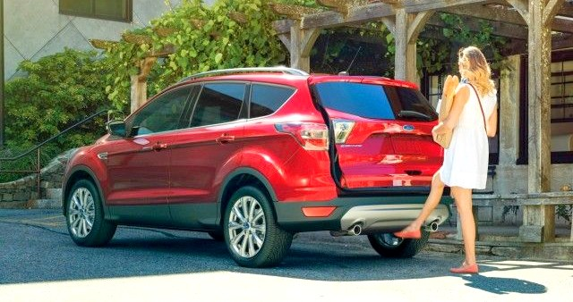 The 2017 Ford Escape to support Apple CarPlay