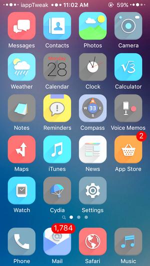Vopor for iOS-iOS9.3-jailbreak-top-themes-iapptweak