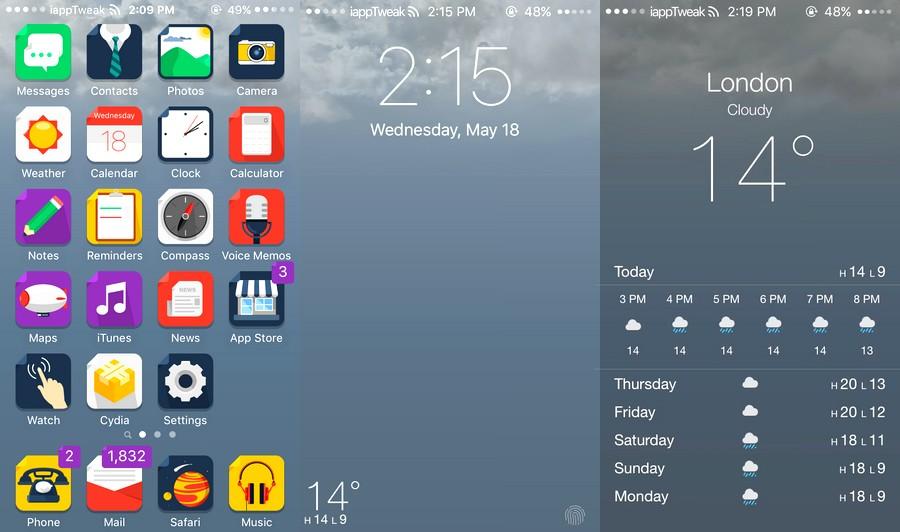 Forecast for iOS 7-8-9-settings-iapptweak